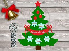 This item is unavailable Free Svg Files Monogram, Cricut Monogram, Free Svg Cut Files, Monogram Fonts, Christmas Svg, Family Christmas, Christmas Shirts, Christmas Decorations, Free Family Tree