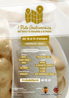 I Ruta gastronòmica del Torró i la Xocolata a la pedra
