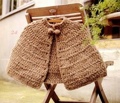 love....Crochet cape