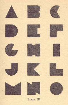 blocky | typography