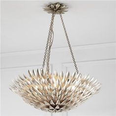 Olive Leaf Dual Mount Chandelier for when we become decadent dinks
