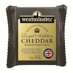 A rather special handmade English Cheddar to celebrate a rather special occasion!
