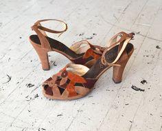 1940s shoes  | 40s platforms