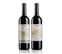 """Old Hands"" Ecologic Wine by Bodegas La Purísima, Yecla. Winelabel Design by @ruskamartin"