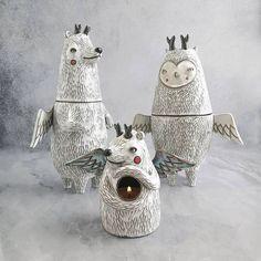 Ceramic Necklace, Ceramic Pendant, Ceramic Jewelry, Ceramic Art, Pottery Studio, Pottery Art, Ceramic Monsters, Wheel Thrown Pottery, Pottery Designs