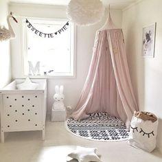 Hanging Bed Baldachin Baby Kids Lesung Spielzelte Baumwolle Netting Bettwäsche
