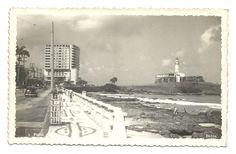 Foto tipo Postal: Farol - Bahia. Circulado em 1952. MBC.