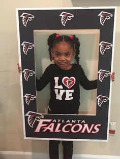 Atlanta Falcons Photo Prop Digital File by UniquelyYourzDesignz