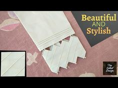 | Super Duper Stylish Trouser design | 2020 | The Latest Design - YouTube Sleeves Designs For Dresses, Dress Neck Designs, Stylish Dress Designs, Sleeve Designs, Stylish Dresses For Girls, Kurti Designs Party Wear, Thing 1, Pants Pattern, Fashion Pants