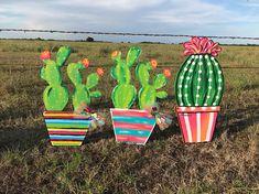 Cactus Door Hangers