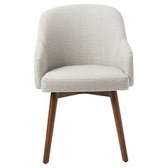 Buy west elm Saddle Dining Chair, Crosshatch Steel Online at johnlewis.com
