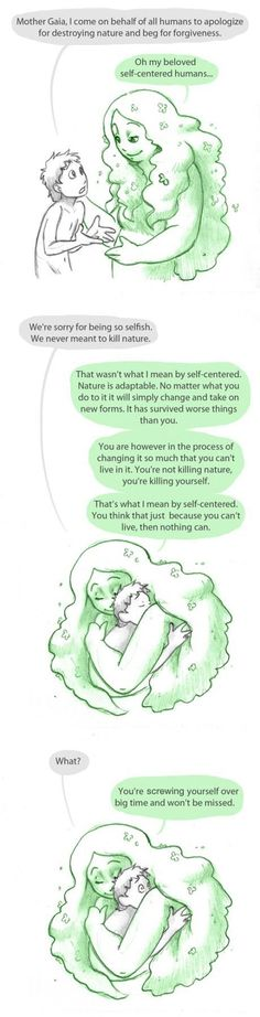 A conversation with Mother Earth.