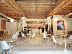 Cafe Furbo Visit Toronto, Distillery, Conference Room, King, Bar, Table, Furniture, Home Decor, Decoration Home