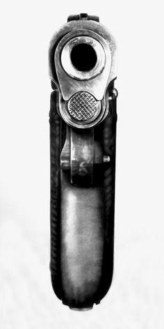Robert Longo - Bodyhammer: .9mm Colt 45