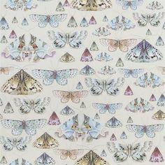 Issoria Pearl wallpaper by Designers Guild
