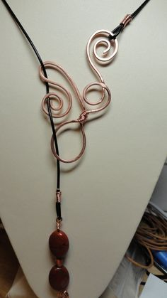 Etsy.  $39.00  Great copper lariat necklace.  Love.