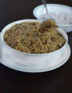 Biryani Rice Recipe, Briyani Recipe, Chicken Biryani Recipe Indian, Indian Chicken Recipes, Indian Food Recipes, Indian Foods, Rice Recipes, Cooking Recipes, Rice