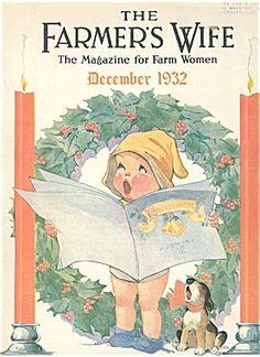 Farmer's Wife magazine.  Charles Twelvetrees, cover artist