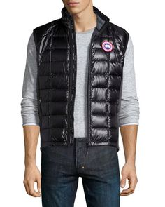 'Freestyle' Slim Fit Down Vest (Online Only), Black | Canada Goose | Pinterest | Canada goose