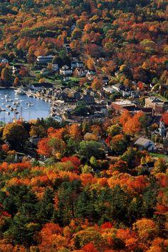 New England Fall, New England Travel, Dream Vacations, Vacation Spots, Fall Vacations, Greece Vacation, Vacation Places, Places To Travel, Places To See
