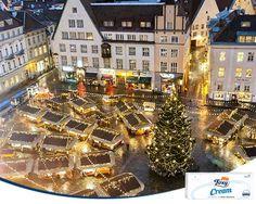 ¿Vacaciones navideñas? Una buena oportunidad para conocer los mejores mercados navideños de toda Europa. http://www.enfemenino.com/viajes/mejores-mercadillos-navidenos-europeos-s1643075.html