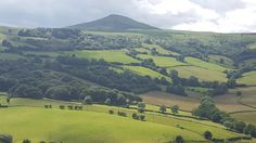 Sugar Loaf mountain in south #Wales