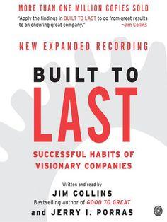 Built to Last, Business - Jim Collins #EZCorporateClothing #BookClub #Business #Success