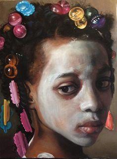 "Flower Girl 4, 40 x 30 <img src=""http://www.alanaveryartcompany.com/wp-content/uploads/2012/04/dot.png"">"