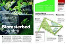 Bilderesultat for bed i skråning Garden Inspiration, Map, Outdoors, Gardening, Location Map, Lawn And Garden, Maps, Outdoor Rooms, Off Grid