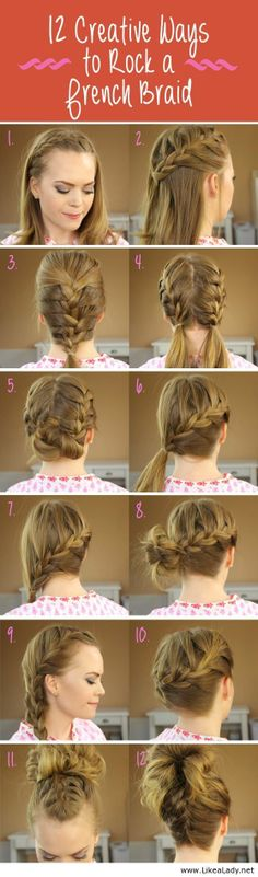Ways to rock a french braid