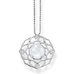 Chakra necklace from the THOMAS SABO Fine Jewellery collection: sophisticated and edgy at the same time.