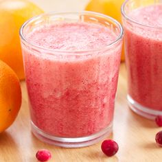 Vitamin C Booster Cranberry Orange Smoothie - boost your immune system!