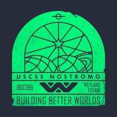 Check out this awesome 'Weyland+Yutani+Grunge+v02' design on @TeePublic!
