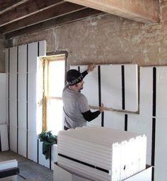 Interior Insulation Retrofit Colonial Brick Home Minnesota