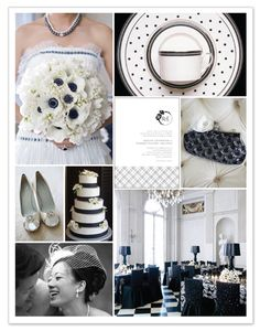 poppy posh wedding inspiration board by Stacey Day #minted #wedding