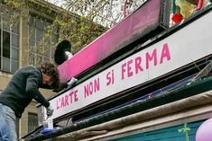 Edicolarte per Aurora - L'Arte non si ferma. photo credit: Sabrina Pantano
