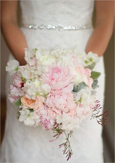{GORGEOUS}                                      pink and white wedding bouquet  via @wedding chicks  images: @Erika Delgado Photography
