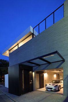 ガレージハウス コンクリート造・RC造の家 デザイナーズハウス・注文建築・自由設計・建築家 アーキッシュギャラリー(東京・名古屋・大阪)Achish&Gallery: