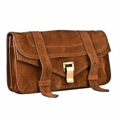 Proenza Schouler Suede Clutch Camel suede. New with tags, cards and dust bag. Proenza Schouler Bags Clutches & Wristlets