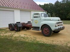 1952 F7 Big Job, Tandem axles, 5 star cab - Ford Truck Enthusiasts Forums