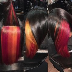 This color! by @hairbyjoya  Read the article here - http://blackhairinformation.com/hairstyle-gallery/this-color-by-hairbyjoya/