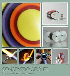 Concentric+Circles+a+Lampwork++Project++Lampwork+von+Mangobeads