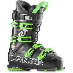 Lange Men s RX 130 Ski Boots Black Green Mondo 28.5 Boots 2017 fa2f65b7ba6