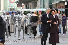 Behind the scenes of the new series of Doctor Who
