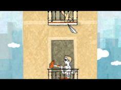 """Corto :""""Balcones"""" de Juan Berrio  para utilizar estar+ gerundio"""