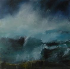 "Saatchi Online Artist Hrafnhildur Inga Sigurdardottir; Painting, ""Dash of breakes"" #art"