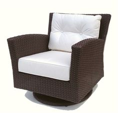 Swivel rocker patio chairs - There are several different styles of swivel rockers, including furniture outdoor patio furniture, living room and office Wicker Swivel Chair, Patio Rocking Chairs, Wicker Chairs, Wicker Furniture, Patio Chairs, Outdoor Chairs, Furniture Ideas, Wicker Rocker, Swivel Glider