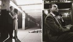 El metro de Nueva York en 1946 fotografiado por Stanley Kubrick a los 17 años   Bored Panda