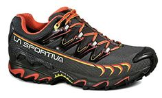 La Sportiva Ultra Raptor GTX Shoe - Women's - Grey/Coral - 40 -- Find out more about the great product at the image link.