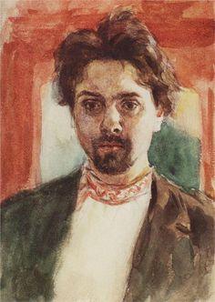 Self-Portrait, 1884  Vasily Surikov